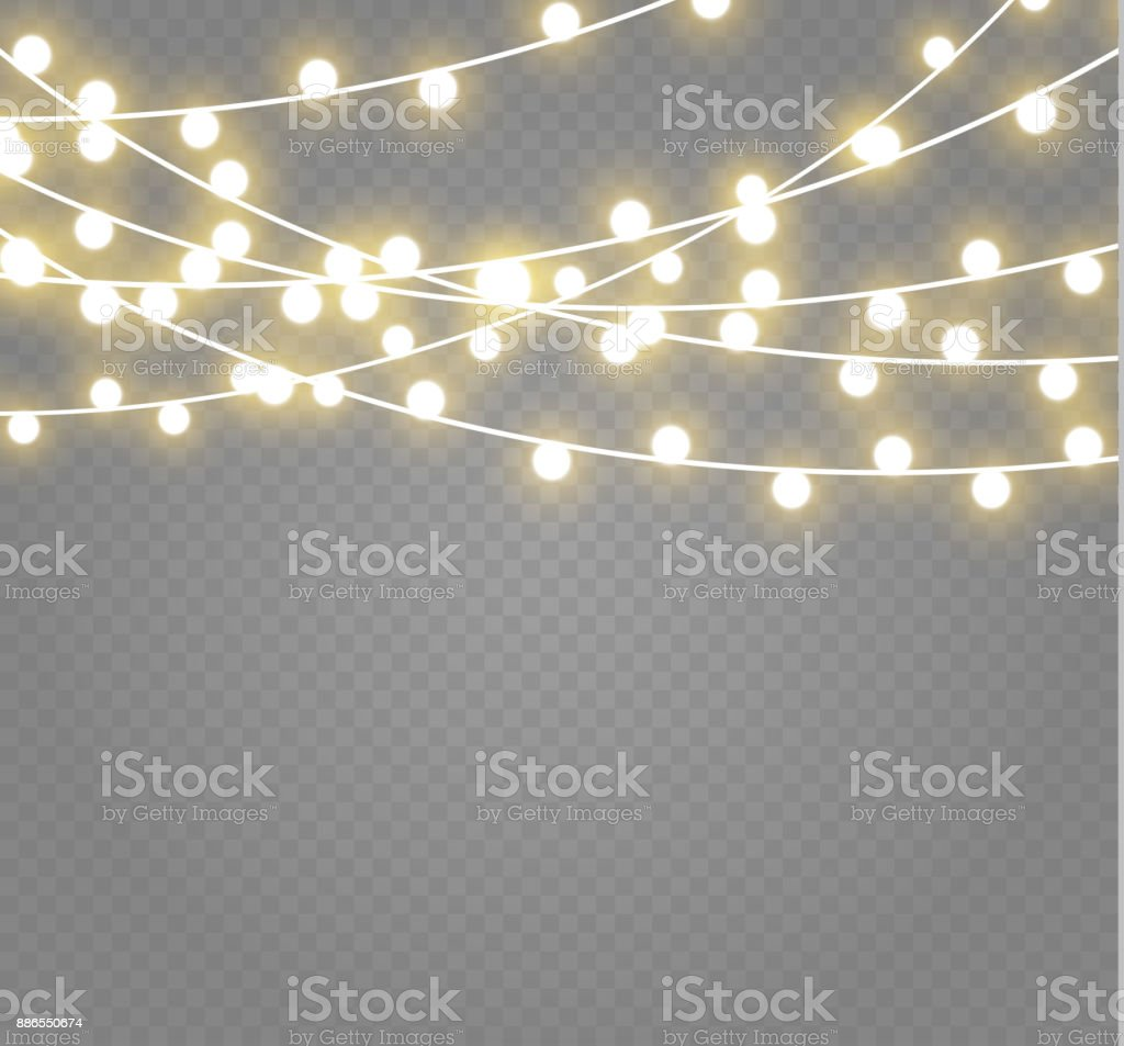 String Lights Illustrations Royalty Free Vector Graphics