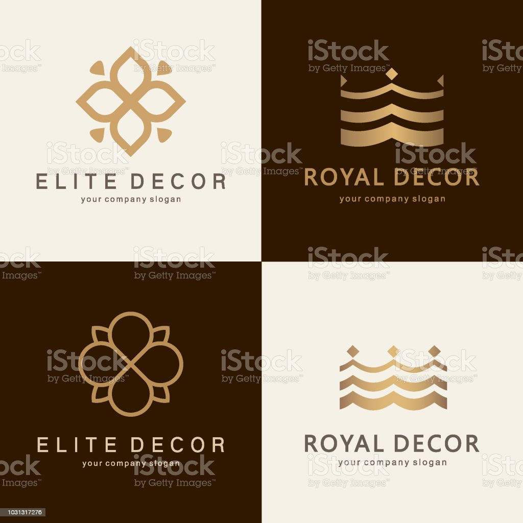 Home Decoration Collection A Collection Of Emblem Design For Interior Furniture Shops Decor