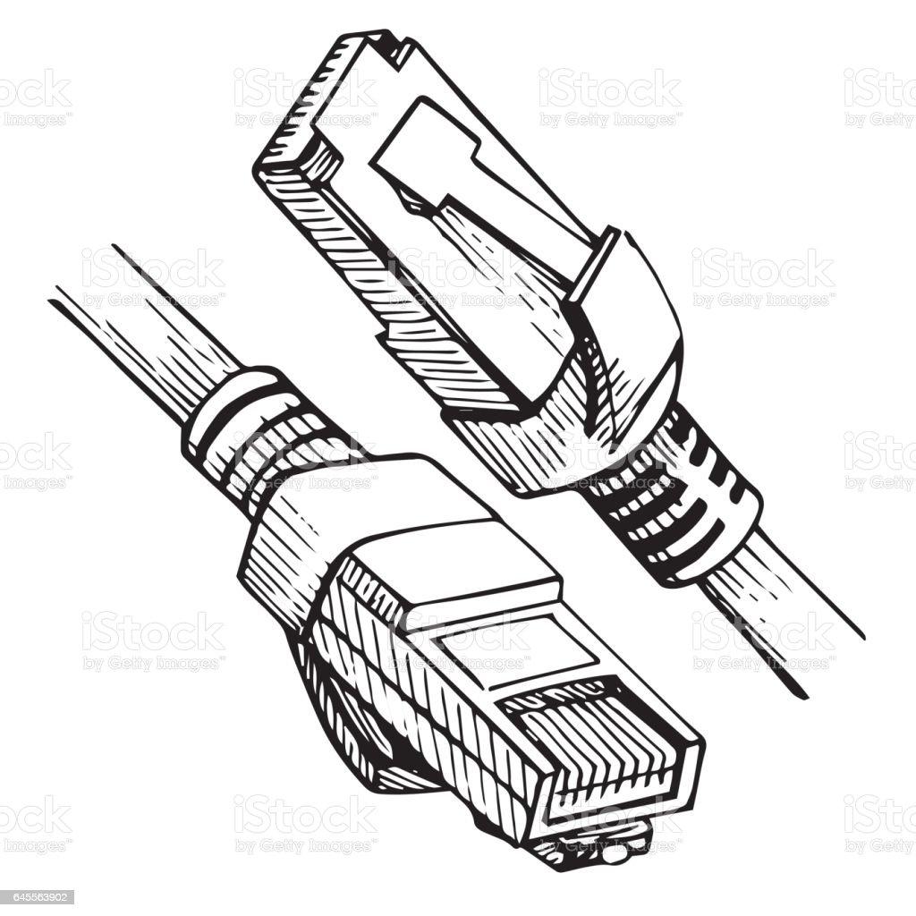 black rj45 connectors wiring