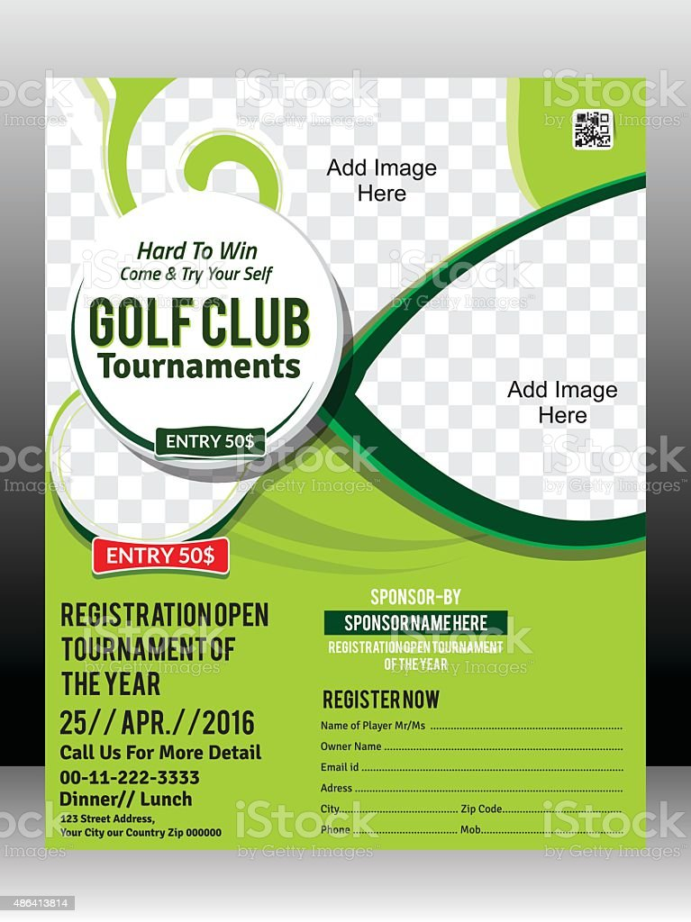golf tournament flyer examples