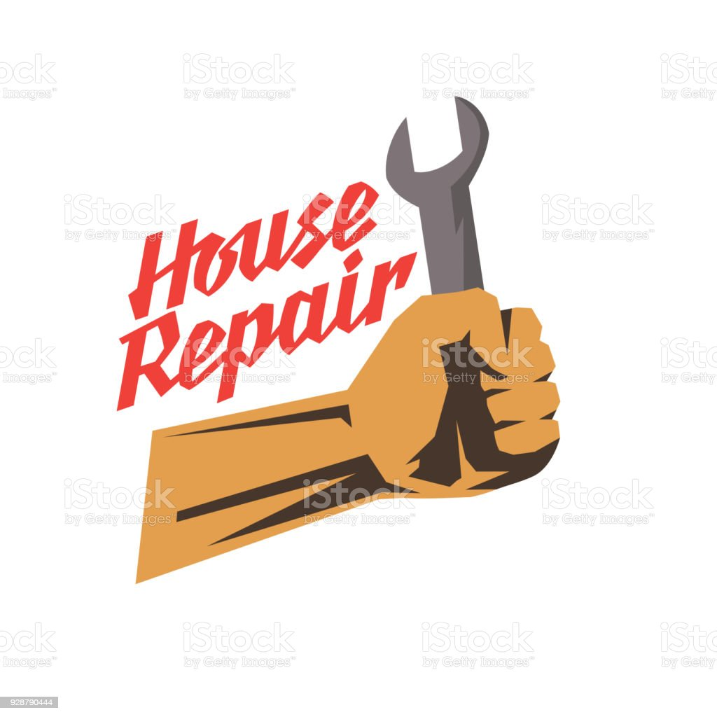 Construction Repair Hand Tool For Home Renovation And Construction House Repair Poster