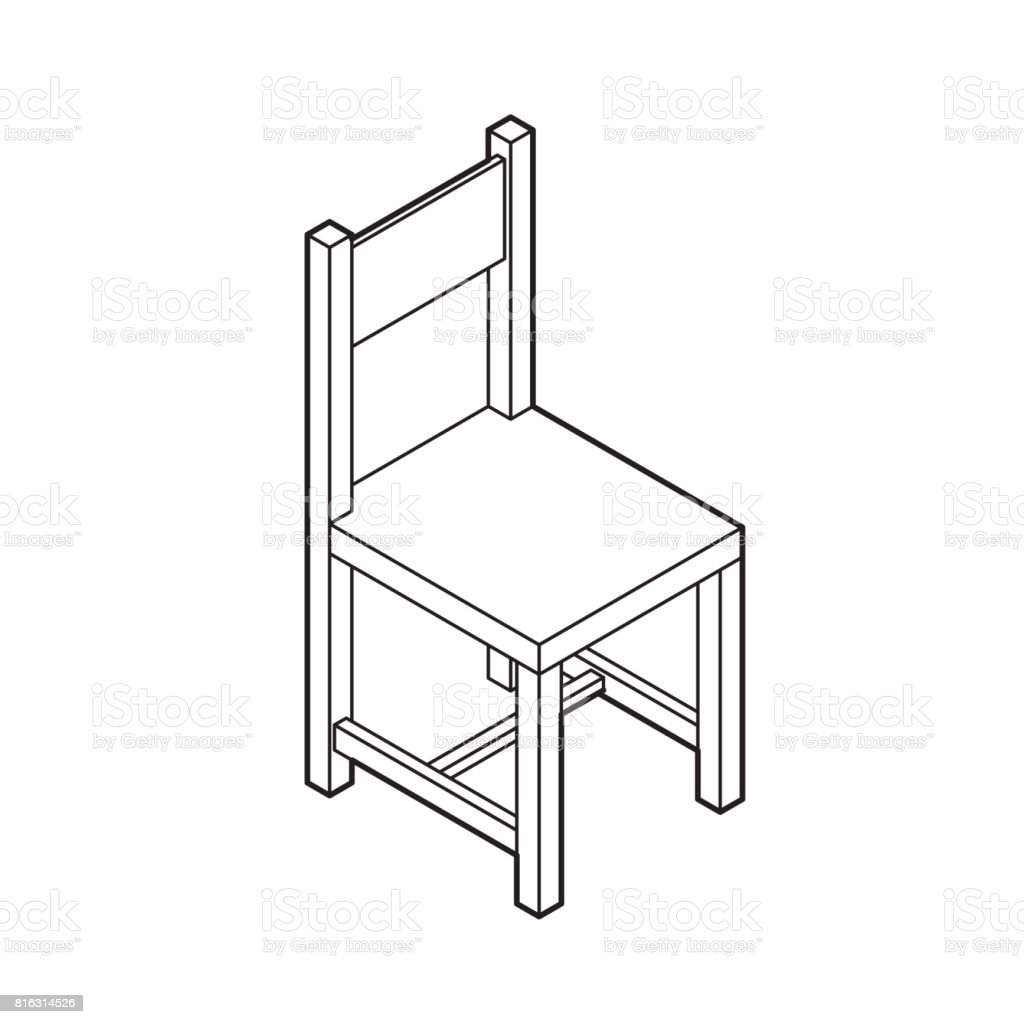 Sessel Vektor Isometric Chair Vector Stock Vector Art And More Images Of