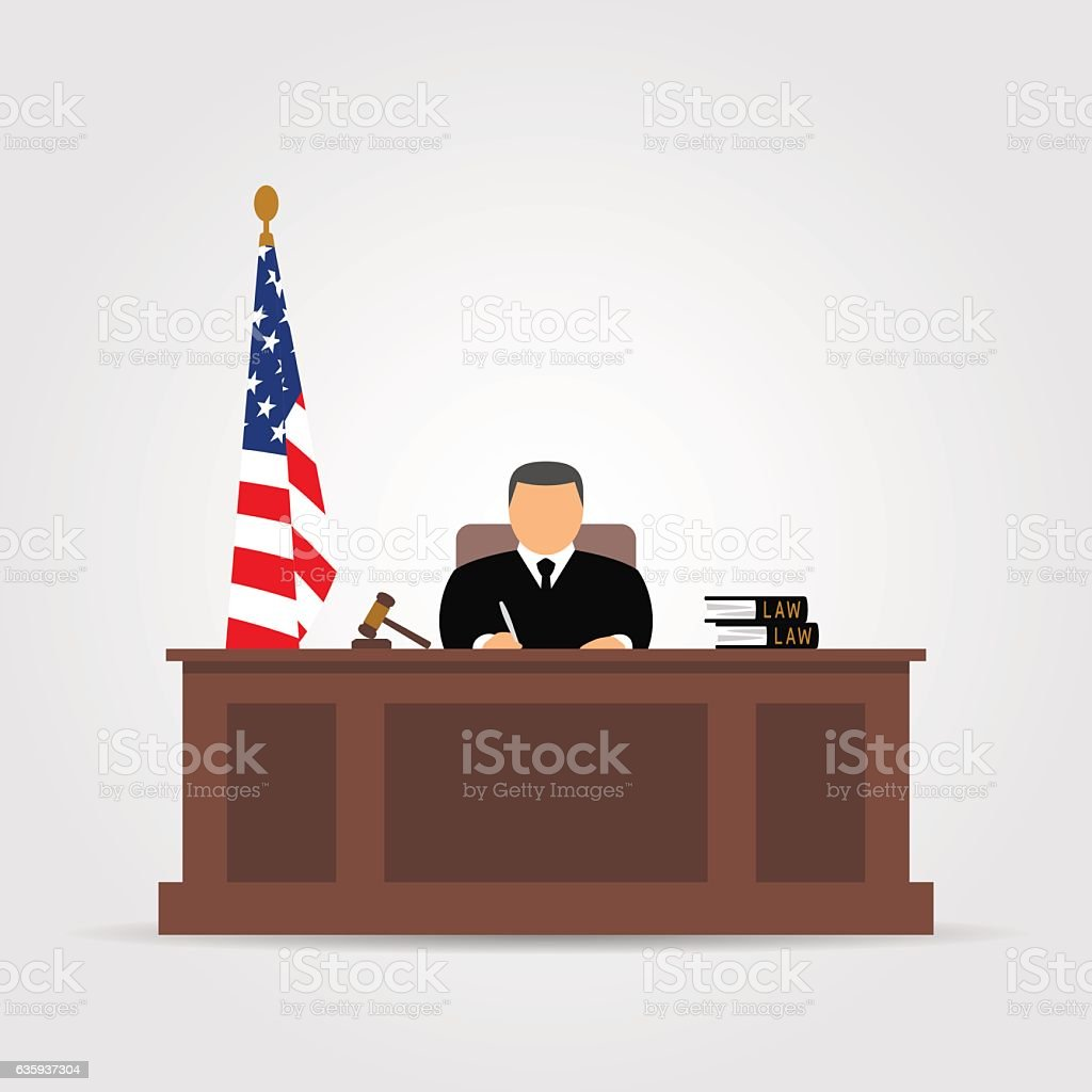 Nn Ds Best Courtroom Illustrations, Royalty-free Vector Graphics
