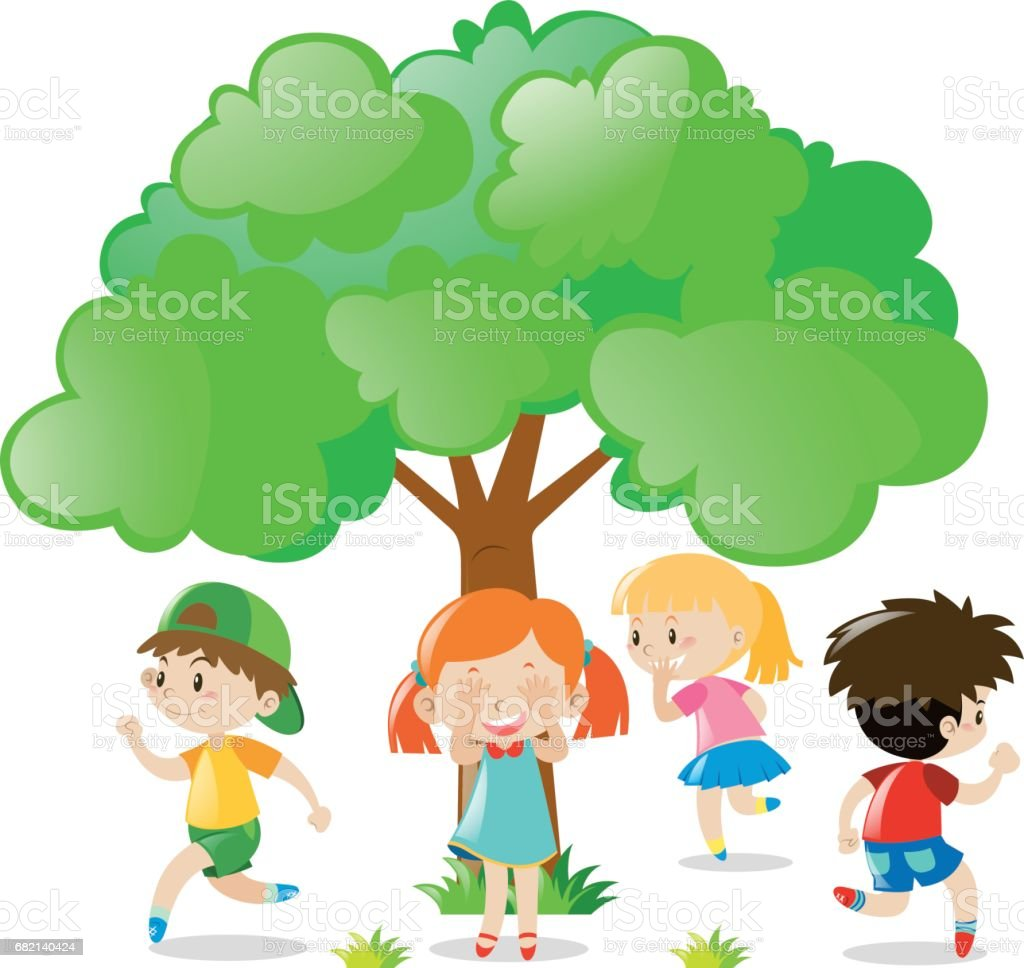 Hide And Seek Kids Top 60 Hide And Seek Kids Clip Art Vector Graphics And