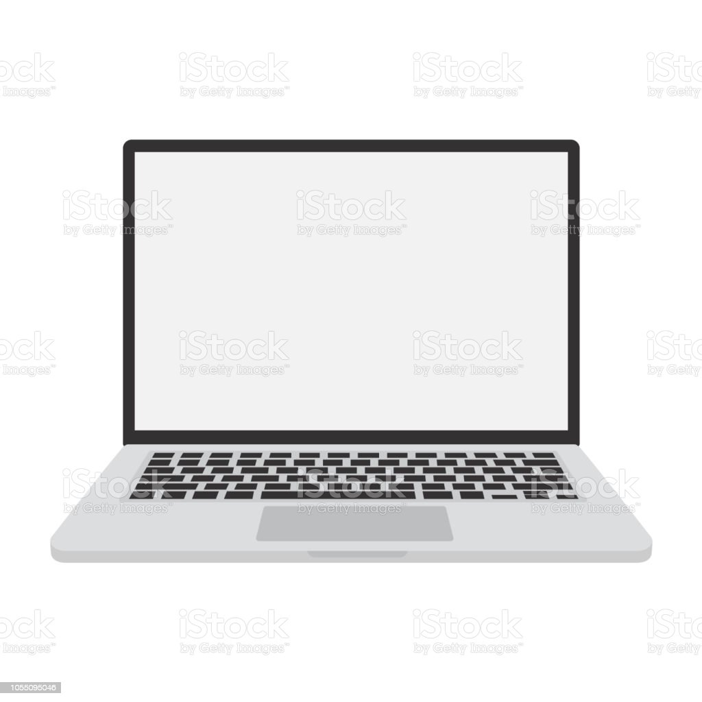 But Informatique Pc Bureau Ordinateur Portable Ordinateur Informatique Pc Vector Illustration