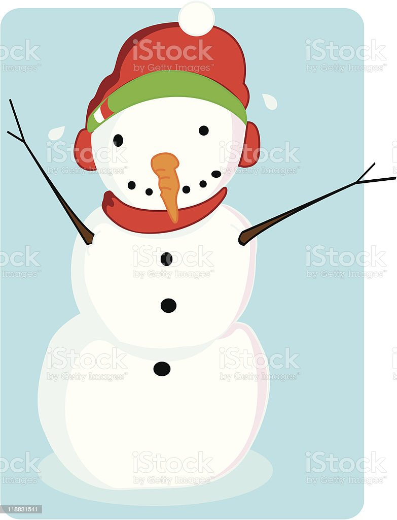 Melting Snowman Stock Illustration Download Image Now Istock