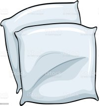 Pillow Case Clip Art, Vector Images & Illustrations - iStock