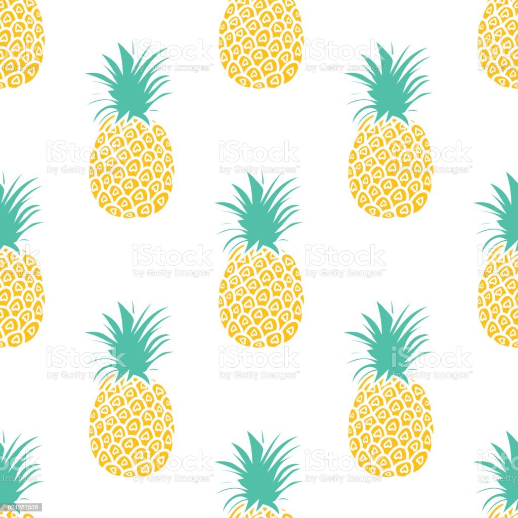 Cute Wallpapers For 12 Year Olds Pineapple Background Cute Pineapples Seamless Pattern