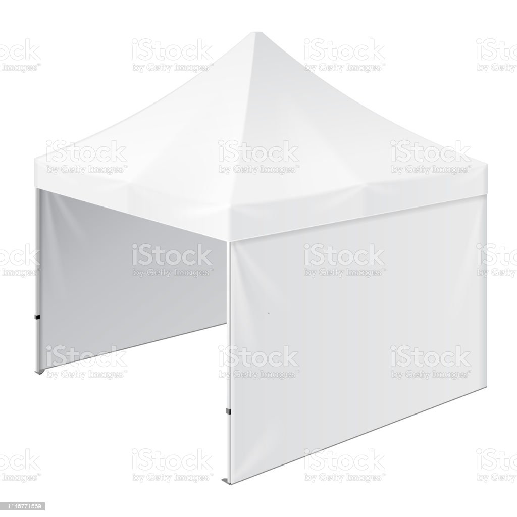White Umbrella Marquees Promotional Outdoor Event Trade Show Popup Tent Mobile Marquee