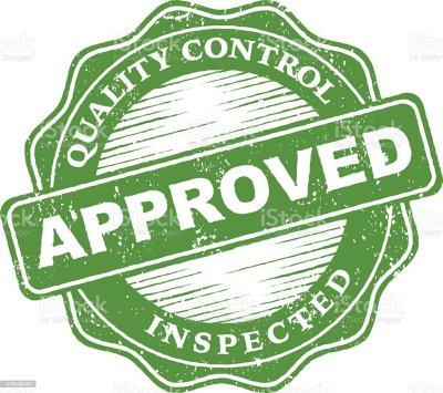 Quality Control Approved Rubber Stamp Ink Imprint Icon Stock Vector Art & More Images of 2015 ...