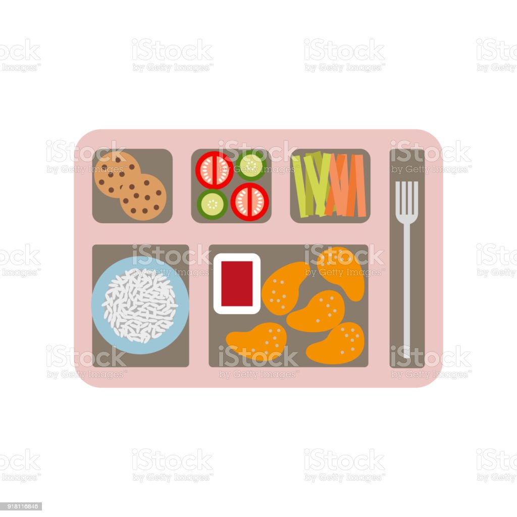 Royalty Free School Lunch Clip Art Vector Images
