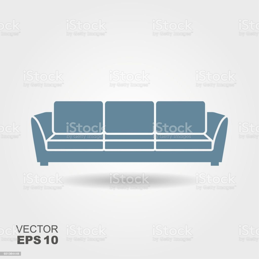Sofa Vector Free Sofa Vector Flat Icon Stock Vector Art More Images Of Abstract