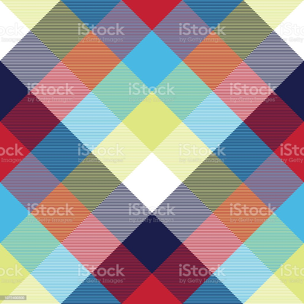 Tischdecke Stoff Tablecloth Diagonal Fabric Texture Seamless Pattern Vector