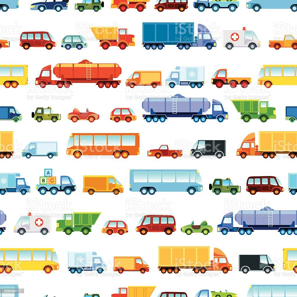 Audio Car Wallpaper Download Toy Car Pattern Stock Vector Art Amp More Images Of