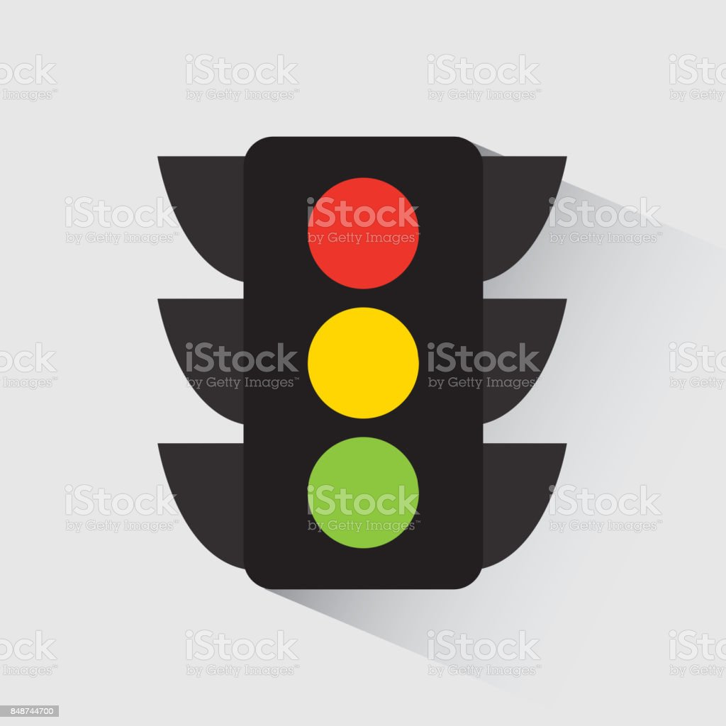 Rote Ampel Clipart Traffic Light Design Vector Illustration Eps10 Graphic