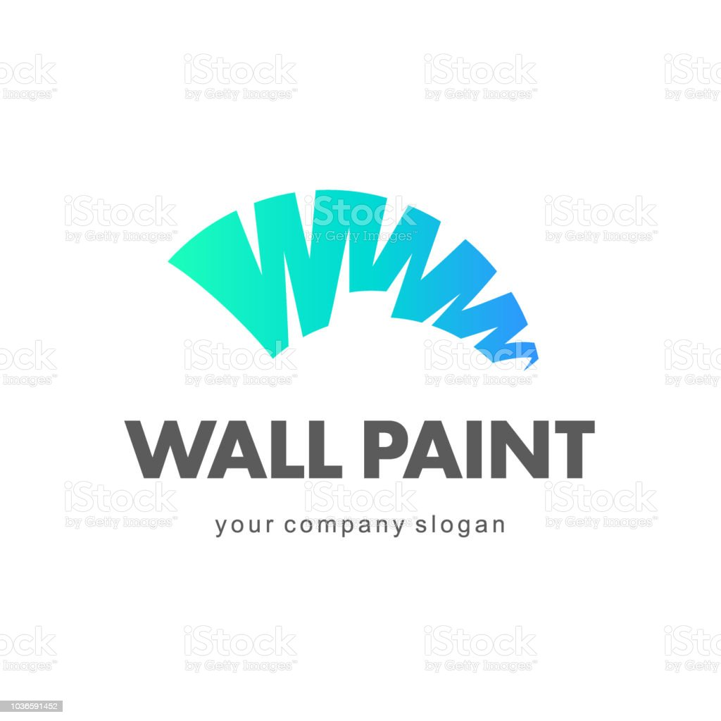 Logo Peinture Decoration Logo Peintre En Batiment Vectoriels Et Illustrations