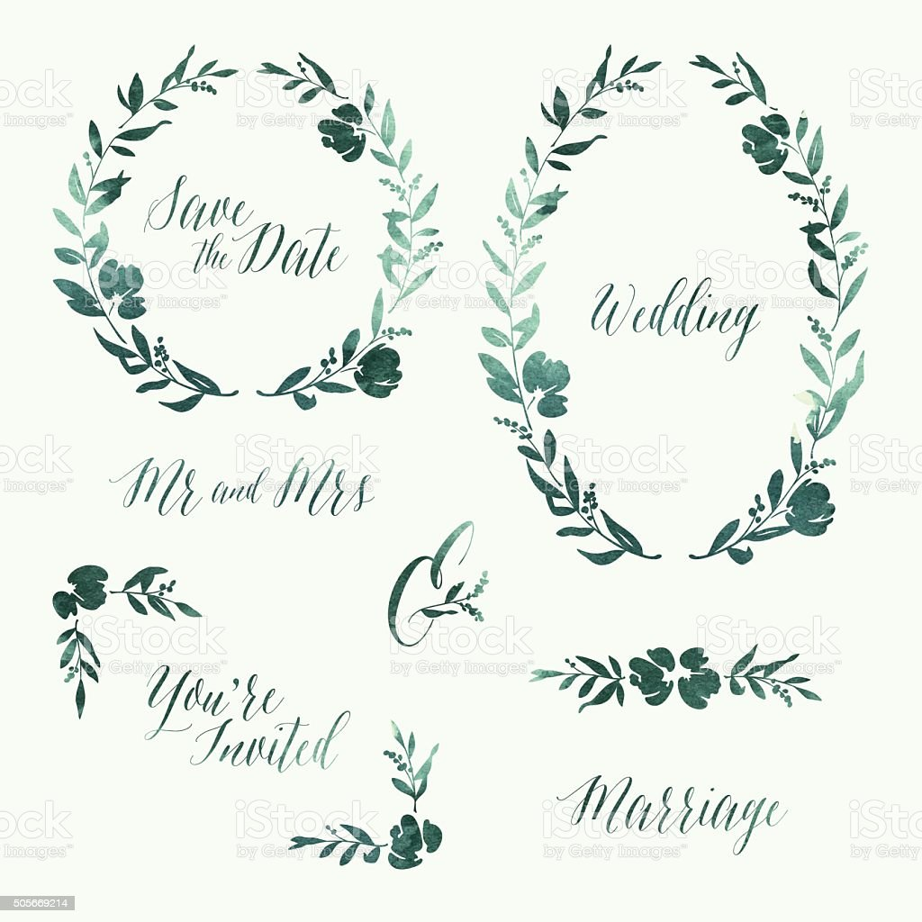 free wedding invitation vectors