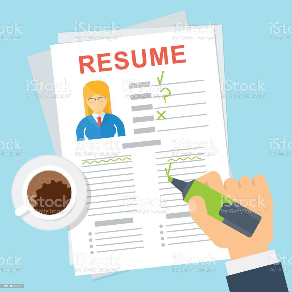 legal resume review