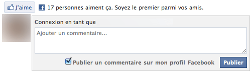 "Le plugin social ""Comments Box"" par Facebook"