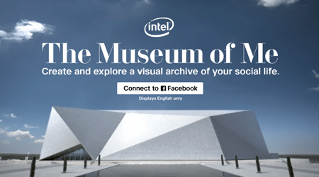 Intel, The Museum of Me — Visualize Yourself