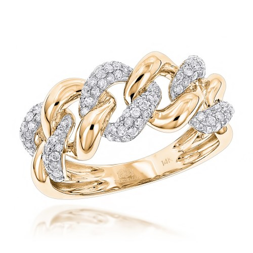 Medium Crop Of Gold Diamond Rings
