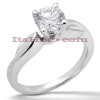 Platinum Diamond Engagement Ring 1ct
