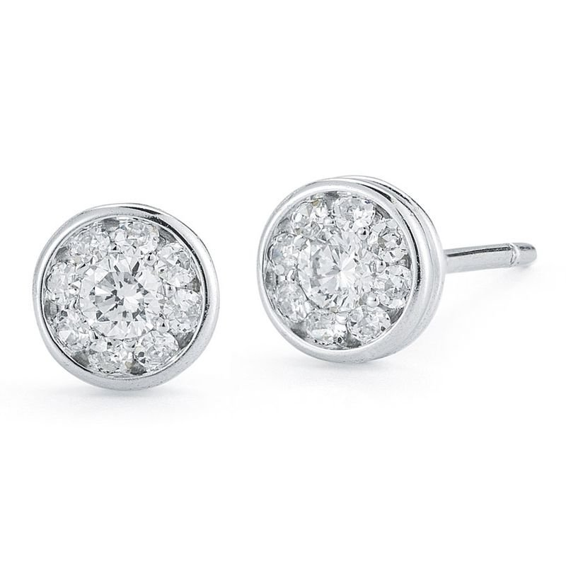 Orr's Jewelers: Roberto Coin Stud Earrings With Diamonds