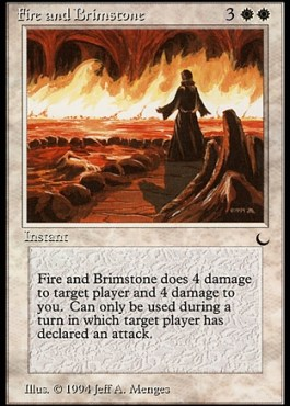 Fire and Brimstone