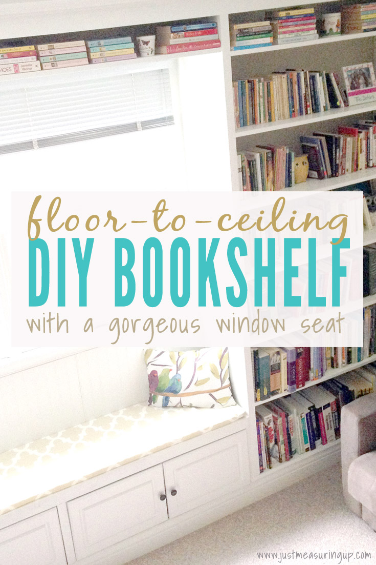 Window Seat Bookshelf Diy Built In Bookshelves How To Build A Window Seat Bookcase