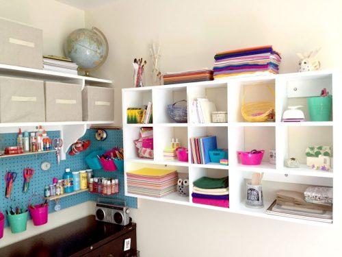 Medium Of Diy Craft Room Decor