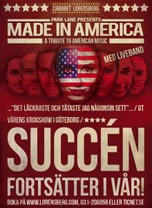 """""""Made in America"""" Cabaret Lorensberg Göteborg"""