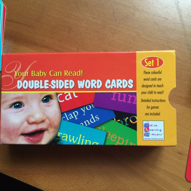 Your Baby Can Read Flash Cards, Babies  Kids on Carousell