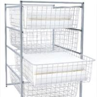 IKEA Antonius Frame & 4 Wire Baskets, Furniture on Carousell