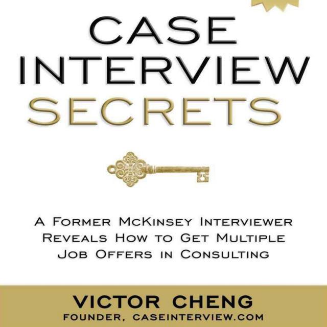 Case Interview Secrets, Books  Stationery, Textbooks on Carousell