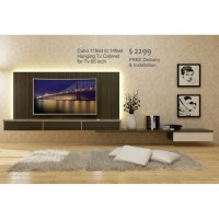 Extendable Hanging Tv Cabinet, Furniture, Shelves