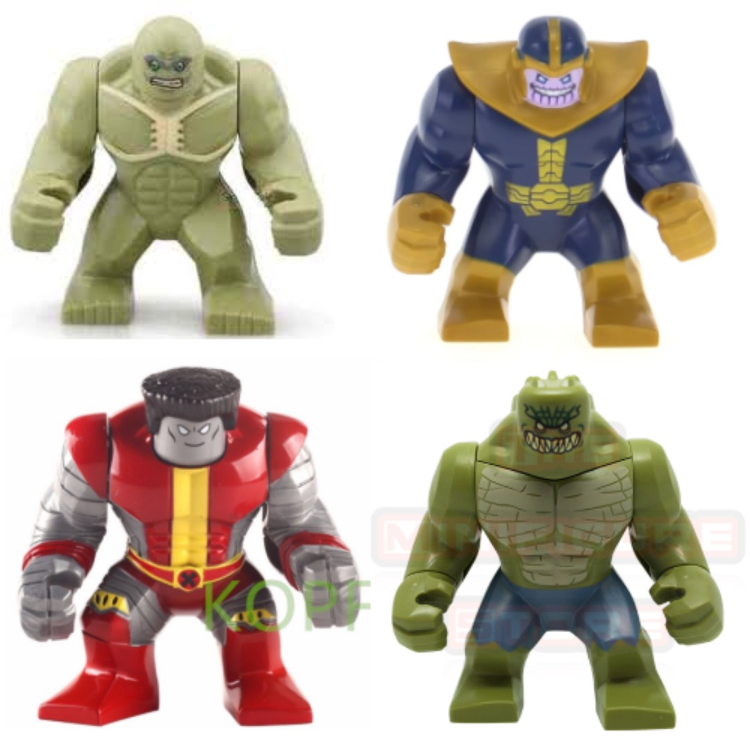 Lego Inspired Lego Inspired Marvel Dc Super Heroes Big Figures Toys