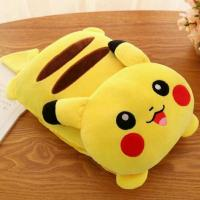 PIKACHU 2in1 PILLOW BLANKET, Home & Furniture on Carousell