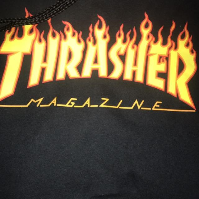 Original Thrasher Flame logo, Men\u0027s Fashion, Clothes on Carousell - flame logo