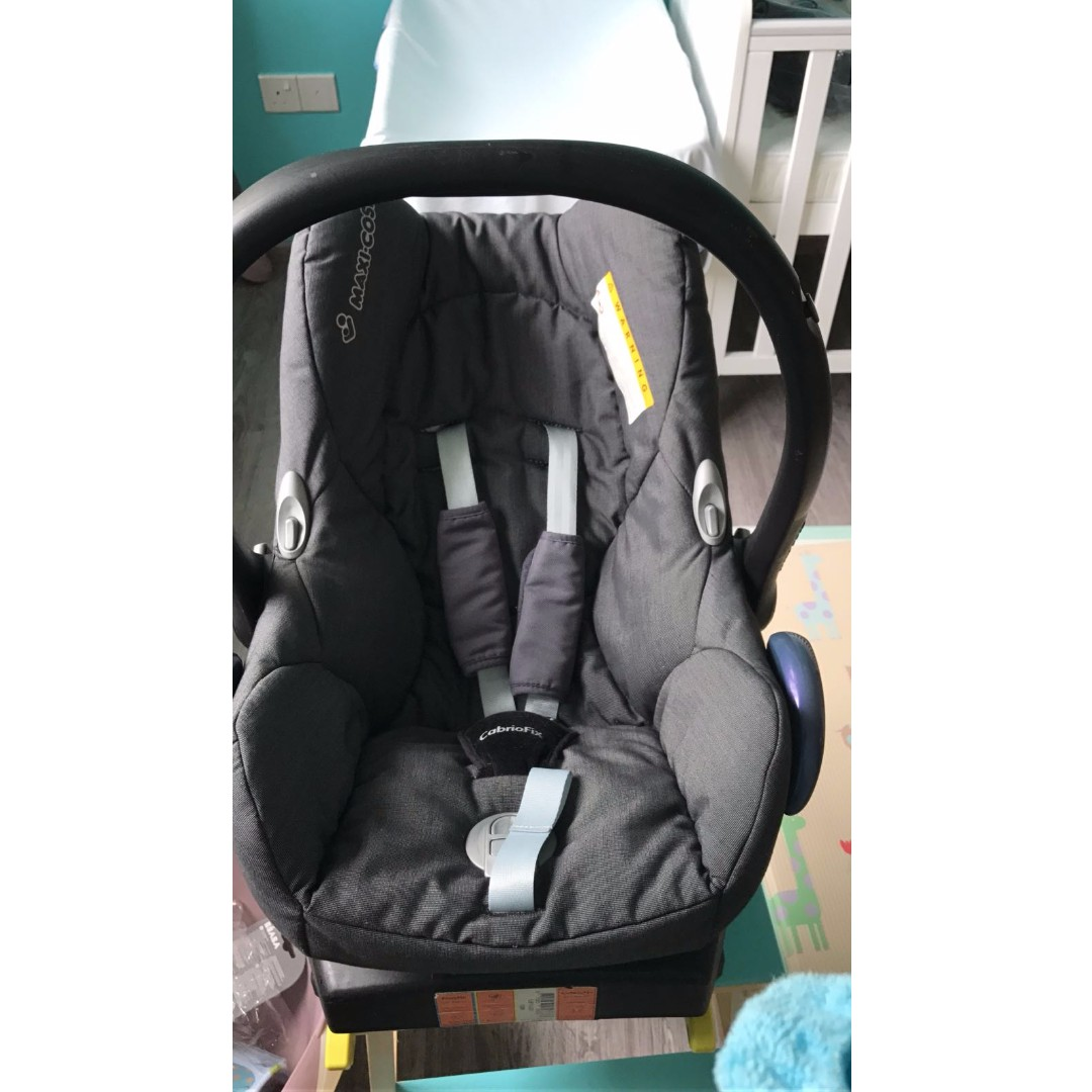 Maxi Cosi Baby Car Seat How To Install Maxi Cosi Cabriofix Baby Car Seat With Easyfix Belt Iso