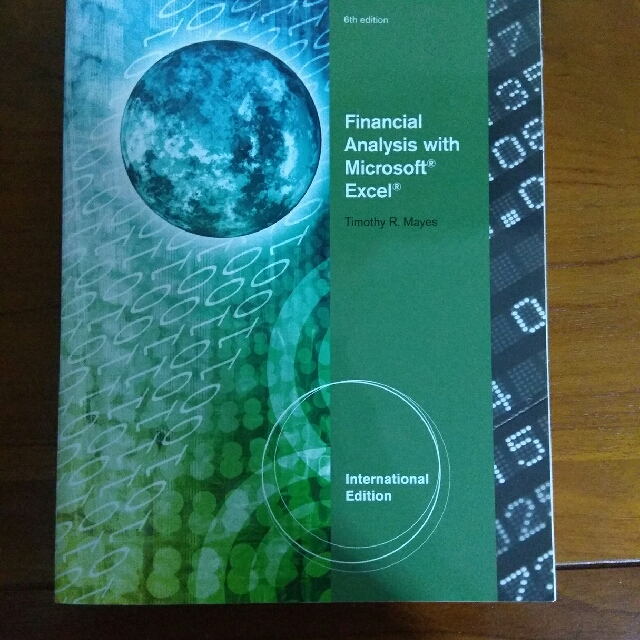 Financial Analysis With Microsoft EXCEL, Books  Stationery