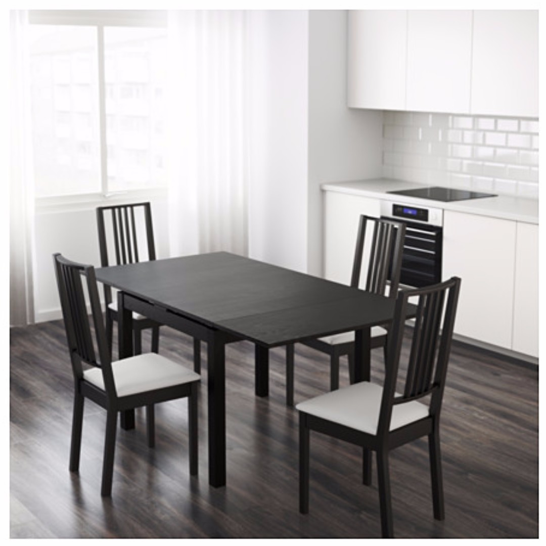 Ikea Bjursta Bank Ikea Bjursta Extendable Table Chairs Are Not Included