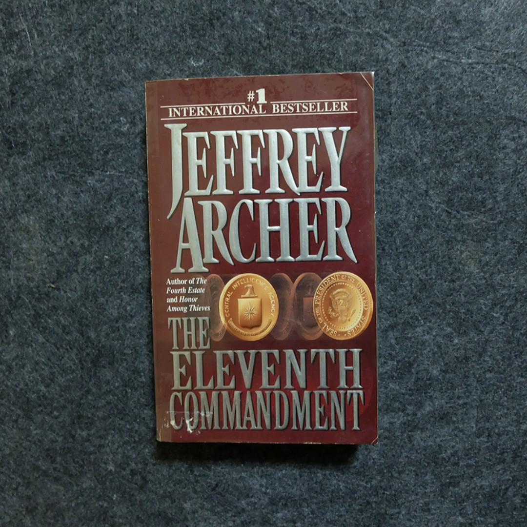 Jeffrey Archer Libros The Eleventh Commandment By Jeffrey Archer