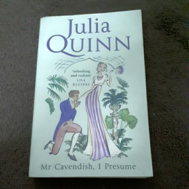 JULIA QUINN -MR CAVENDISH, I PERSUME, Books  Stationery, Books on - mr cavendish i presume