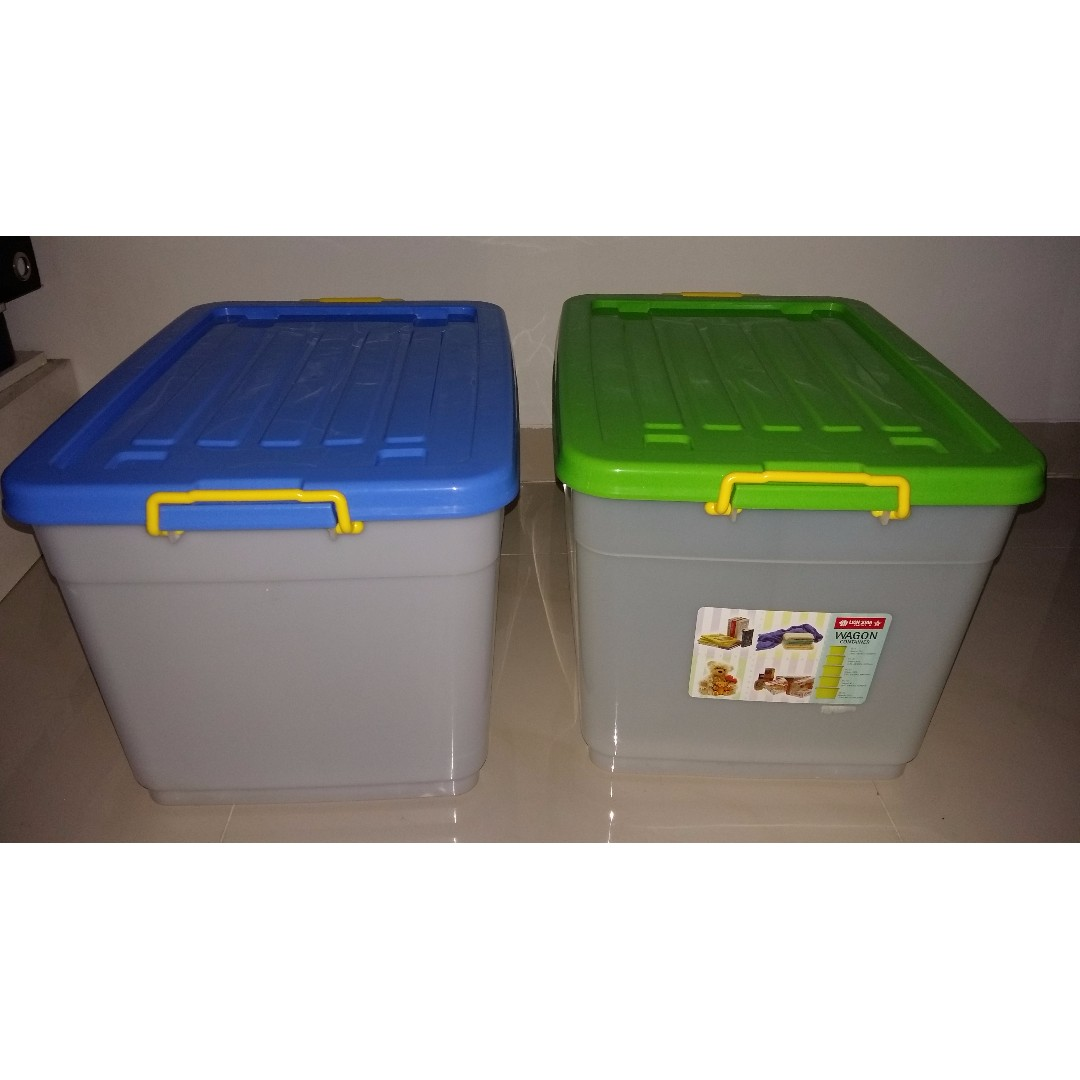 Box Plastik Kontainer Box Plastik Merek Lion Star Wagon