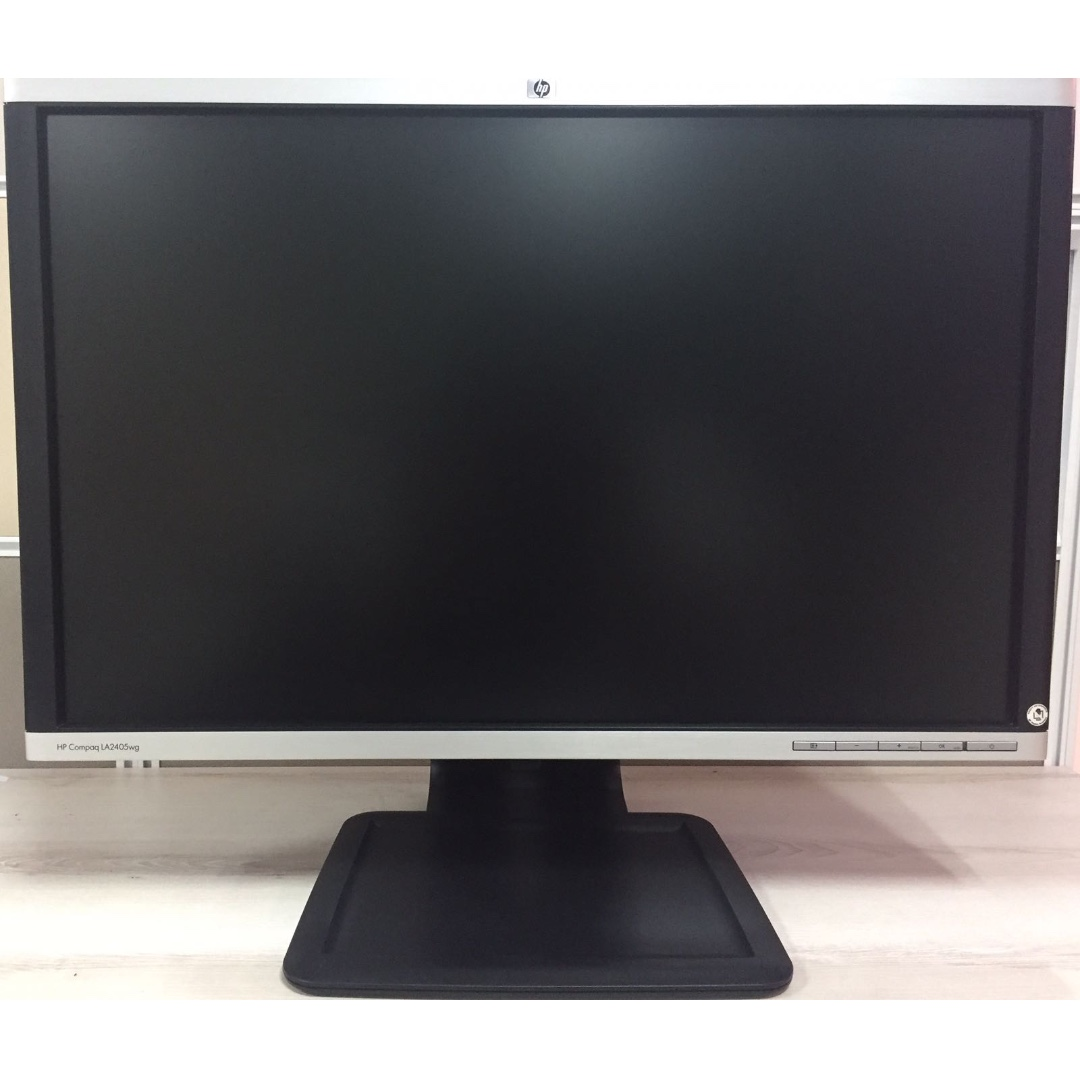 Monitor 24 Inch Refurbished Hp Compaq La2405wg 24 Inch Widescreen Lcd