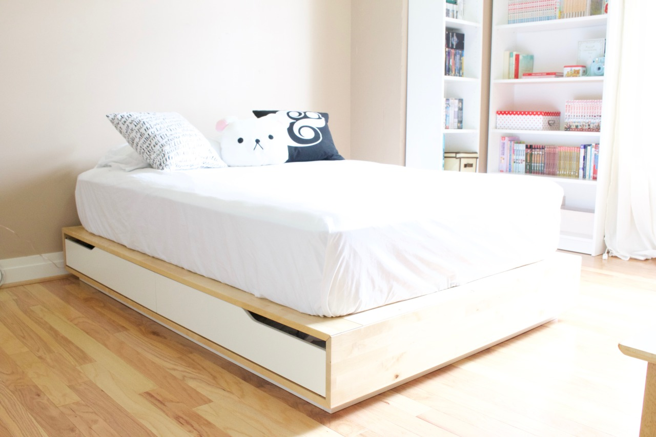 Ikea Mandal Frame Ikea Mandal Bed Frame Free Mattress Furniture Beds