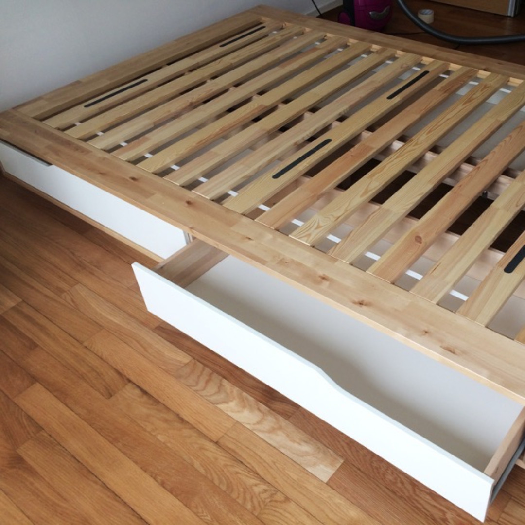 Ikea Mandal Frame Queen Size Bed Ikea Mandal Bedframe Move Out Sale