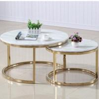 Scandinavian Marble Coffee Tea Table Simple Modern Living ...