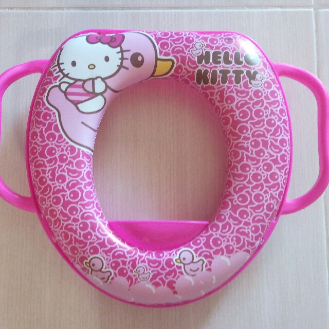 Hello Kitty Soft Potty Seat Trainer For Toddlers, Babies  Kids - hello kitty potty