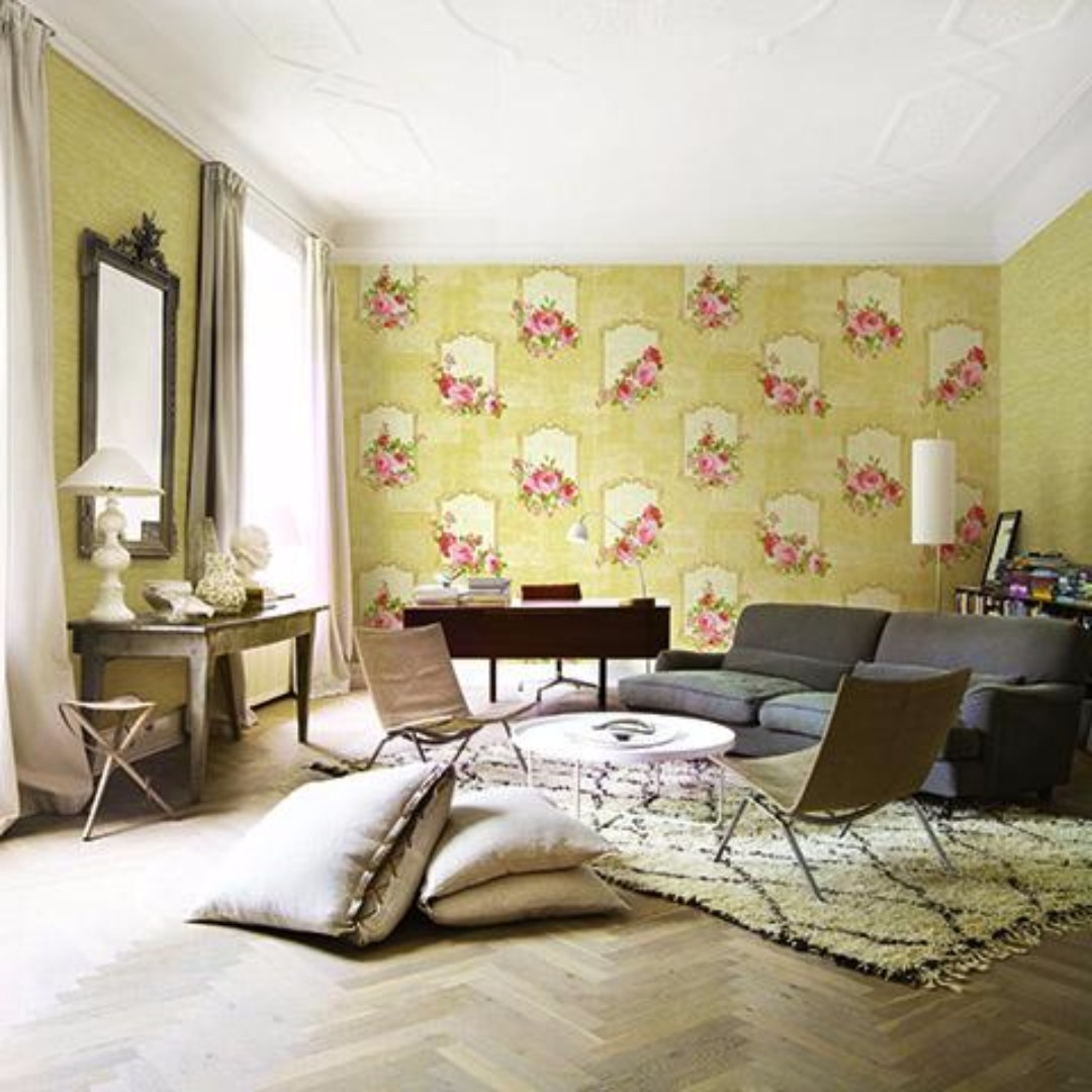 Cara Ikut The Project Home And Decor Beautiful Wallpaper With Installation